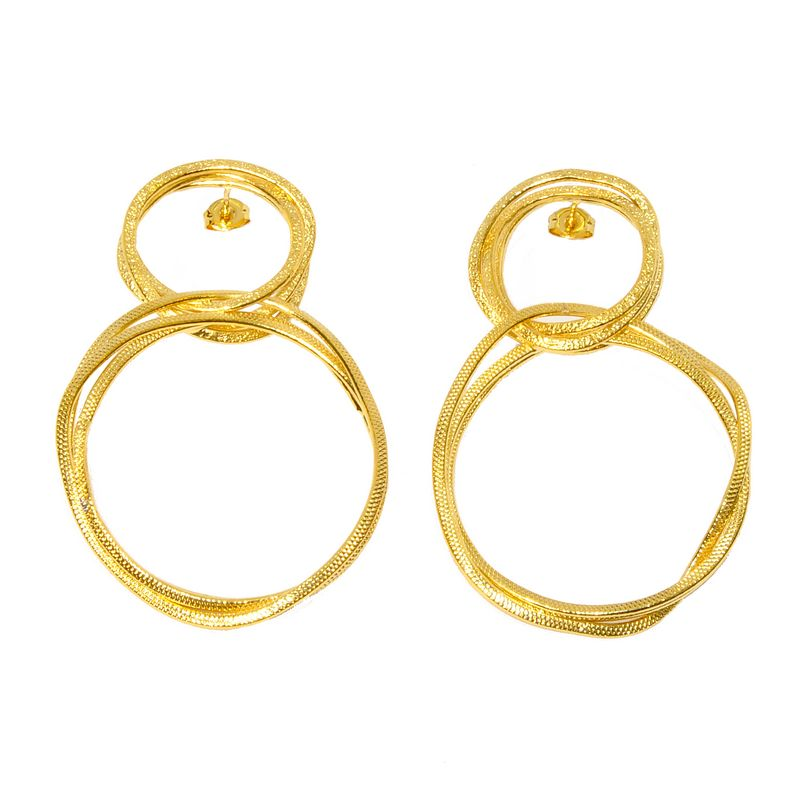 Earrings AF4253-Gold- plated