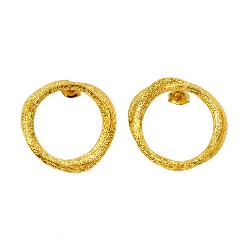 Earrings AF4254-Gold- plated