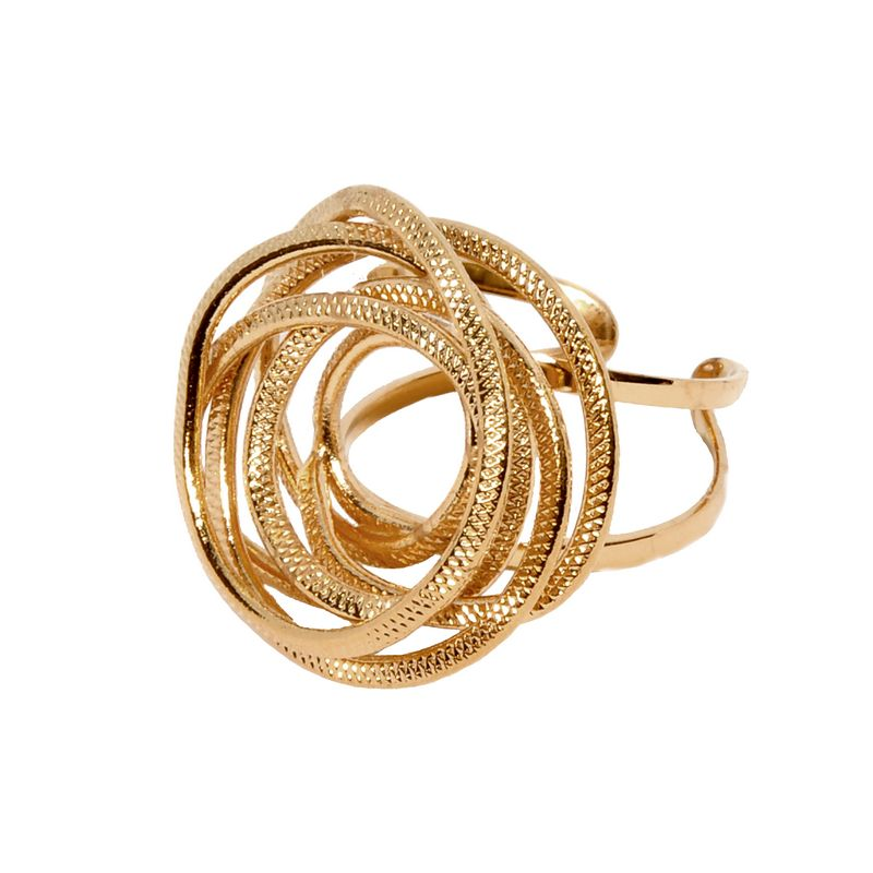 Rings D4255-Rose Gold- plated