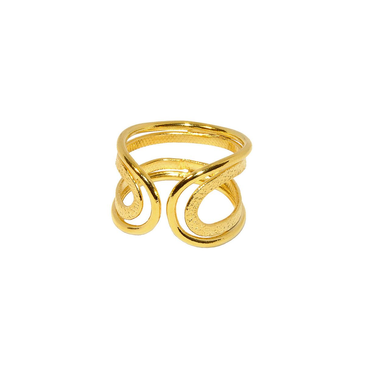 Rings D4329-Gold- plated
