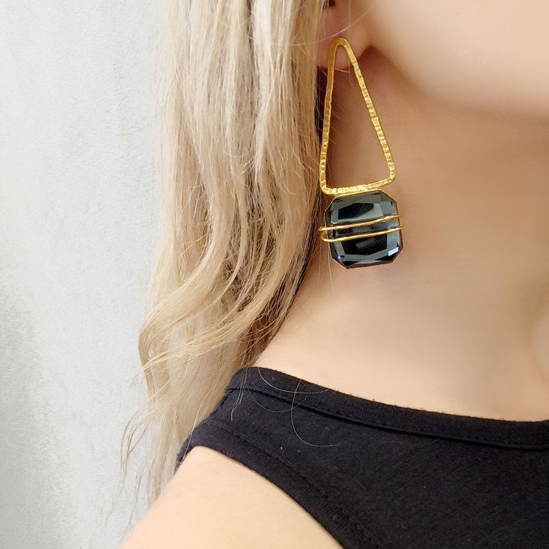 Earrings AF4425-Gold- plated