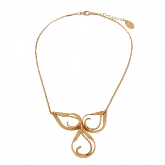 Necklace A4056-Rose Gold- plated