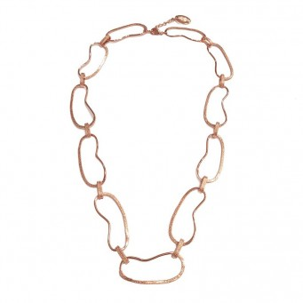 Necklace A4495-Rose Gold- plated