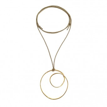 Necklace A4500-Gold- plated