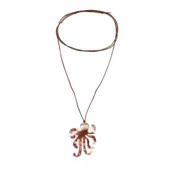 Necklace A4525-Rose Gold- plated