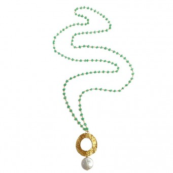 Necklace A4526-Green