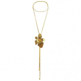 Necklace A4535-Gold- plated