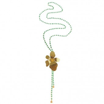 Necklace A4536-Green