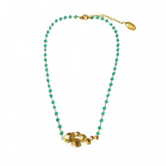 Necklace A4537-Green