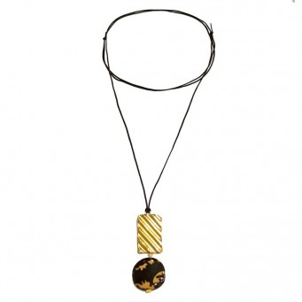 Necklace A4594-Gold- plated