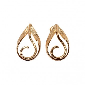 Earrings AF4056-Rose Gold- plated