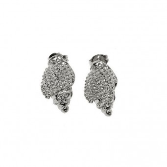 Earrings AF4195-Silver- plated