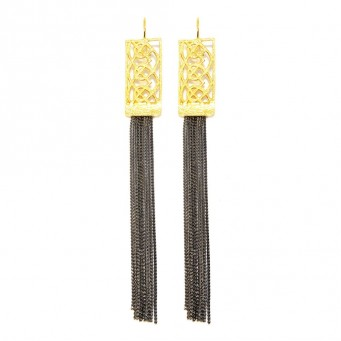 Earrings AF4372-Gold- plated