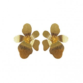 Earrings AF4535-Gold- plated