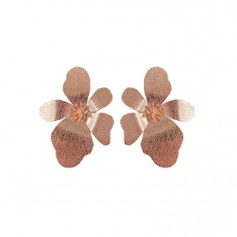 Earrings AF4535-Rose Gold- plated