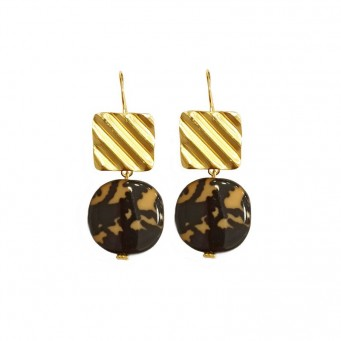 Earrings AF4594-Gold- plated