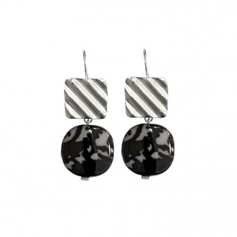 Earrings AF4594-Silver- plated
