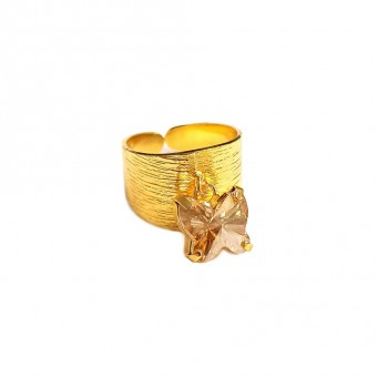 Rings D1002-Gold- plated