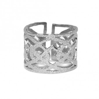 Rings D4372-Silver- plated