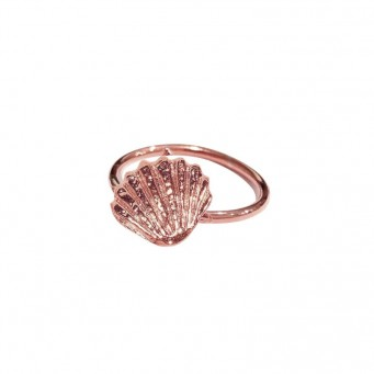 Rings D4403-Rose Gold- plated