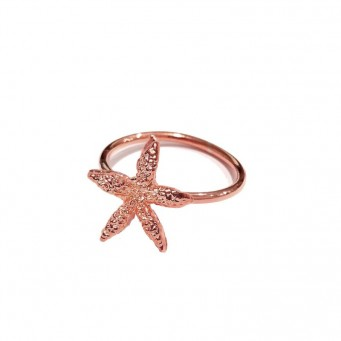 Rings D9138-Rose Gold- plated