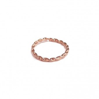Rings D9173-Rose Gold- plated