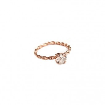 Rings D9180-Rose Gold- plated