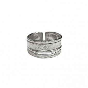 Rings D9184-Silver- plated