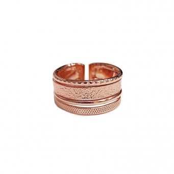 Rings D9184-Rose Gold- plated