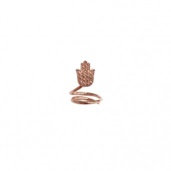 Rings D9187-Rose Gold- plated