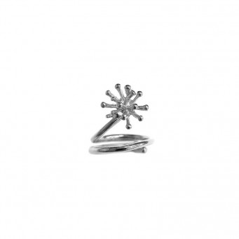 Rings D9188-Silver- plated