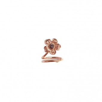 Rings D9191-Rose Gold- plated