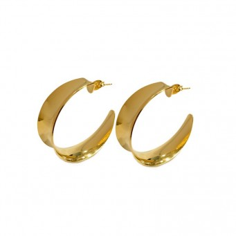 Earrings F9147-Gold- plated