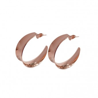 Earrings F9147-Rose Gold- plated