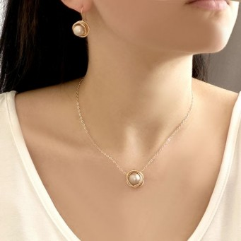 Necklace A4485-Gray