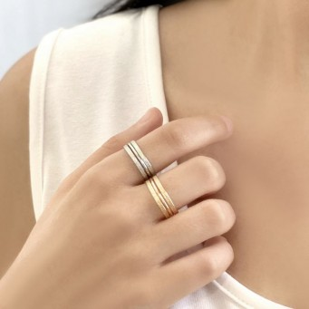 Rings D9183-Silver- plated