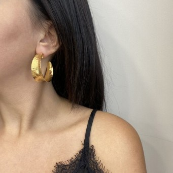 Earrings F9129-Gold- plated