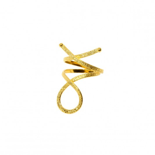 Rings D4345-Gold- plated