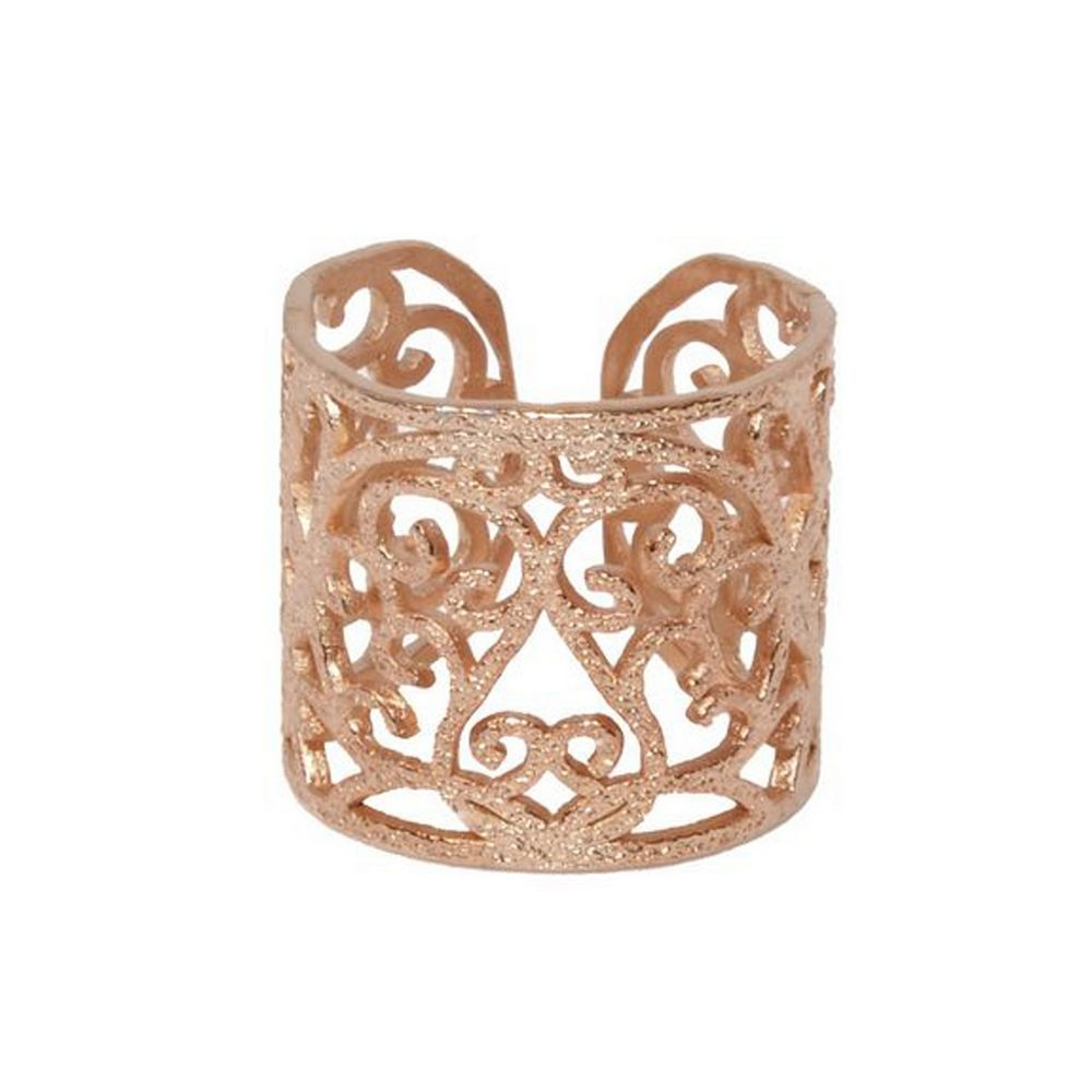 Rings D4371-Rose Gold- plated